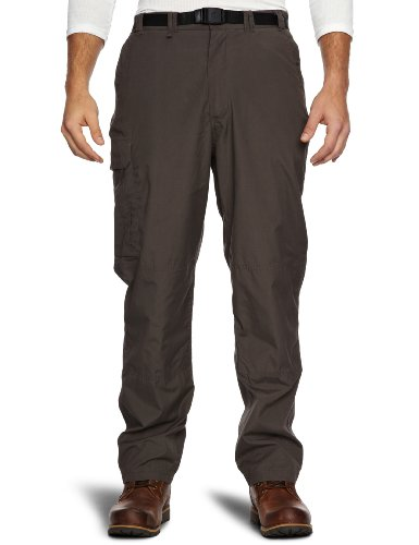 Craghoppers Classic Kiwi Mens Walking Trousers - Bark, Long-34 Inch