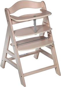Hauck Chaise haute Alpha blanc