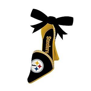 Team Shoe Ornament, Pittsburgh Steelers