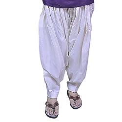 Jehal women's cotton Patiala salwar (beige_Free size)