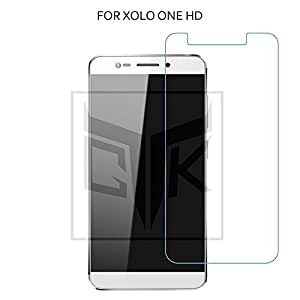 TheGiftKart 0.3mm ULTRA Clear Anti-Burst 9H Hardness HD Tempered Glass Screen Protector For Xolo One HD