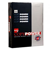 BILT Copy Power Paper - A4, 75 GSM, 500 Sheets, White, 1 Ream