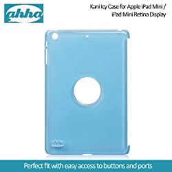 Ahha Kani Icy Case for Apple iPad Mini / iPad Mini Retina Display - Clear Blue (A-YCAPIDMR-0K03)