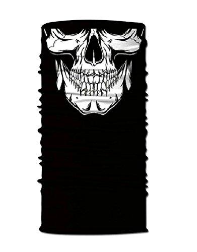 Air Pollution Skull : Festie fever skull rave bandana multifunctional seamless