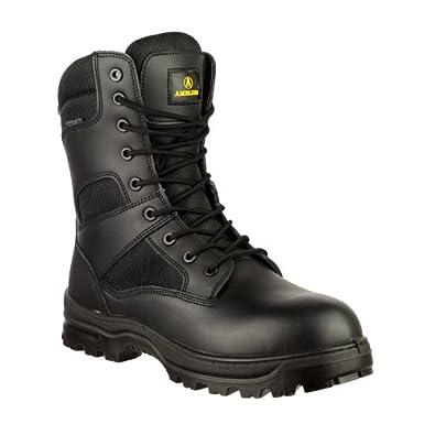 Amazon com amblers combat boot mens boots 5 us black shoes