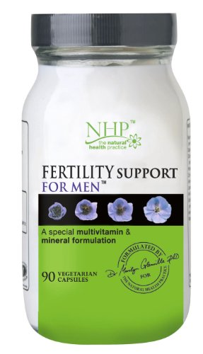 Natural Health Practice Fertility Support for Men Capsules - Tub of 90