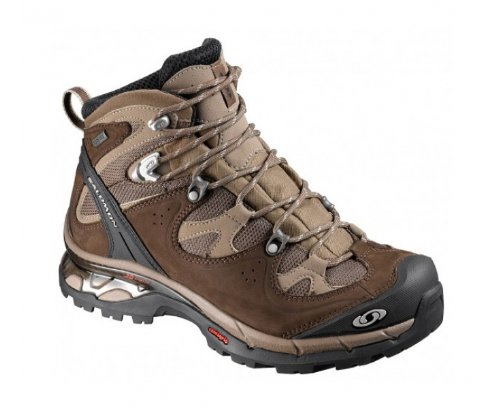 SALOMON Comet 3D GTX Ladies Walking and Hiking Boots, Brown/Black, UK5.5