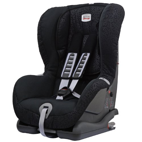 Britax Duo Plus ISOFIX Forward Facing Group 1 Car Seat (Black Thunder)