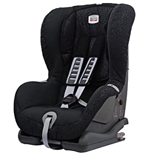 Britax Duo Plus Group 1  9 Months - 4 Years ISOFIX Forward Facing Car Seat (Black Thunder)
