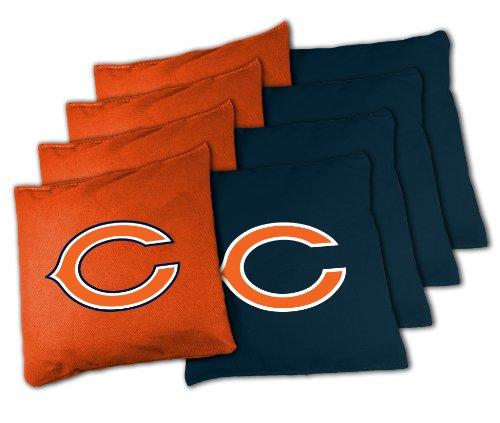 Wild Sports BB-XL-NFL105 NFL Chicago Bears Official Cornhole Bean Bag Sets