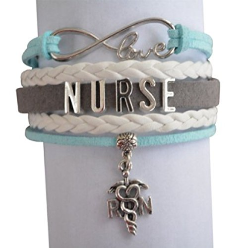 Nurse Bracelet, Nurse Charm Bracelet Makes Perfect Nurse Gifts (Nurse compare prices)