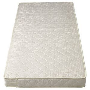 SOPHIE FULLY BOUND With **TAPED EDGED** Superior Sprung Cot Mattress **PLUS EXTRA COVER** Best For Fitted Sheets 120x60 x 10cm Thick - Will Fit M&P Cots 200 Size As Well As Other Makes : British Made With High Grade Density Foam CMHR28