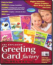 Art Explosion Greeting Card Factory Deluxe 6.0