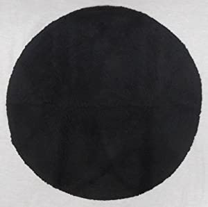 Black Bath Mat Round Rug Shag Non Slip Ultra Plush Microfiber Highly Water The plush material sets it apart from thin bath mats, and the superior construction and non-slip bottom set it .