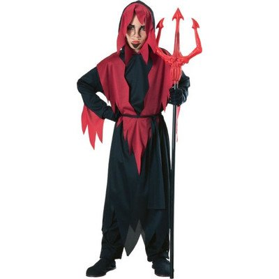 Haunted House Devil Robe Costume Size: Medium (Devil Robe Child Costume)