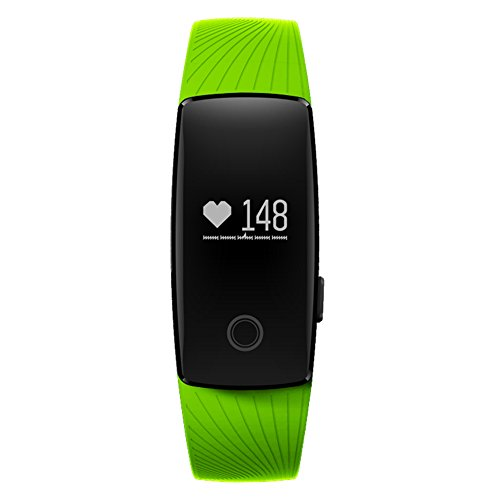 "Braccialetto Fitness, CICMOD Multifunzione Bluetooth Bracciale Intelligente ""Touch"" Sports Braccialetto Smart Orologio Tracker Impermeabile IP67"