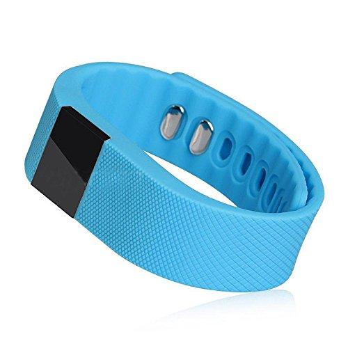 GALLOPJOY Novelty Shining Attractive 1pc Nordic Nrf51822 3.7V 60Mah Life Tw64 Bluetooth Smart Wristband Blue