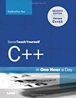 Sams Teach Yourself C++ in One Hour a Day, 7th Edition Front Cover