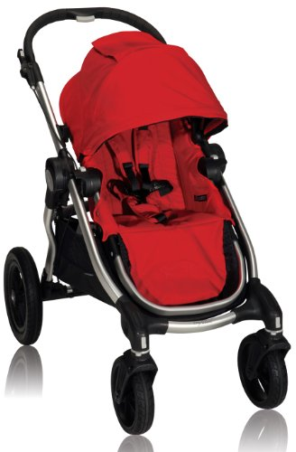 Baby Jogger City Select Single Stroller, Ruby front-79916