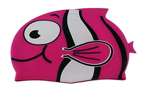 Storm Accessories Lil Swimmer Silicone Swim Cap, Pink