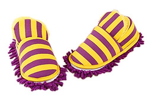 orange-rayures-chaussons-amovible-et-lavable-tout-talon-inclusive-25cm