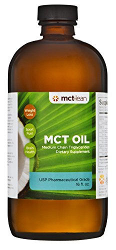 MCT Lean MCT Oil, 16 Oz. - 100% USP Verified (Pharmaceutical Grade), Certified Kosher (Mct Oil Pharmaceutical Grade compare prices)