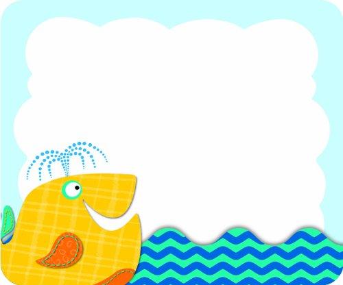 Seaside Splash Name Tags - 1