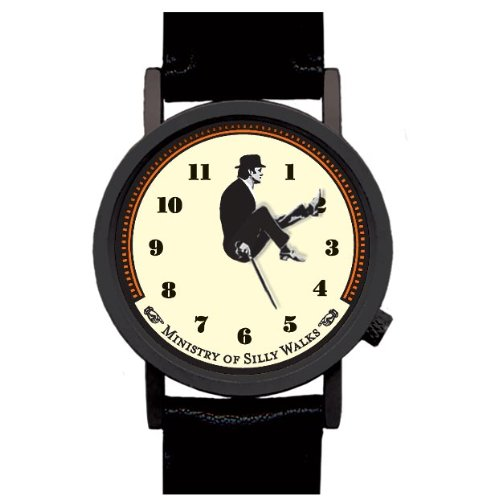 Ministry of Silly Walks, The Classic Monty Python Sketch Useful Device, John Cleese's Legs Monty Python Fun Collectible Timepiece by Monty Python