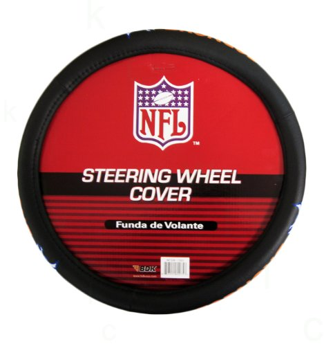 NFL Comfort Grip Steering Wheel Cover - Denver Broncos