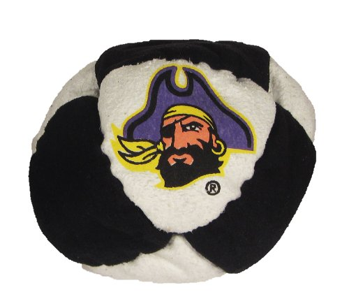 Hacky Sack - College Logo 8 Panelled East Carolina Design - 1