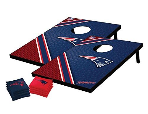 NFL England Patriots Tailgate Toss Bean Bag Game Set, Medium from Wild Sports