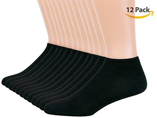 IS-Mens-12-Pack-Low-Cut-No-Show-Ankle-Socks-Socks-Men-Size-10-13
