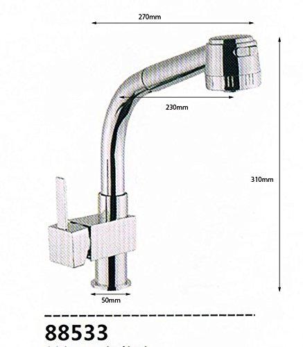 Küchenarmatur Spültischarmatur Küchen Bad Spültisch ( Armatur 88533)