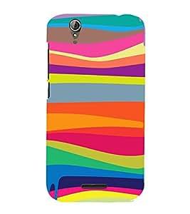 99Sublimation Rainbow Paint In pattern 3D Hard Polycarbonate Designer Back Case Cover for Acer Liquid Z630 :: Acer Liquid Z630S