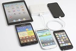 GSK 12000mAh iPhone5対応 モバイルバッテリー 取扱説明書付属