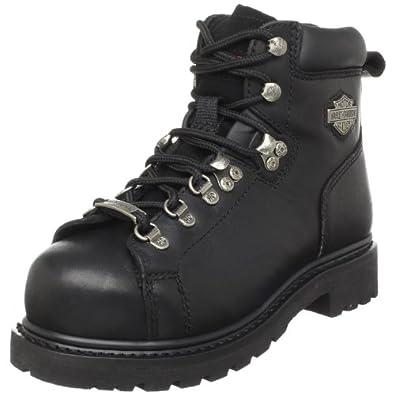 Women's Steel Toe Boots Harley Davidson 32