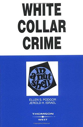 White Collar Crime In A Nutshell (Nutshell Series) PDF