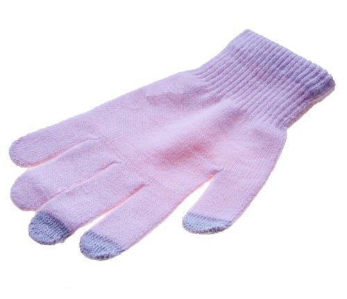 Touch Glove Touch Screen Handschuhe für Smartphone iPhone 5 iPad mini Galaxy S3 Rosa