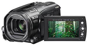 JVC Everio GZHD3 3CCD 60GB Hard Disk Drive High Definition Camcorder with 10x Optical Image Stabilized Zoom
