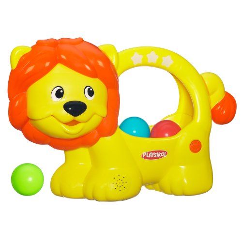 Poppin Park Learn N Pop Lion Toy