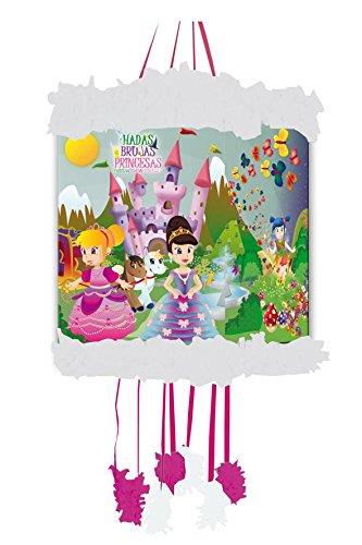 Verbetena - Piñata viñeta Hadas, brujas y princesas (012600109)
