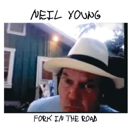 Neil Young - Fork in the Road album cover art