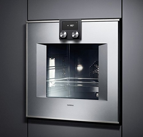 Gaggenau Oven 400 series BO 470111 Right Hinged Stainless Steel 60cm