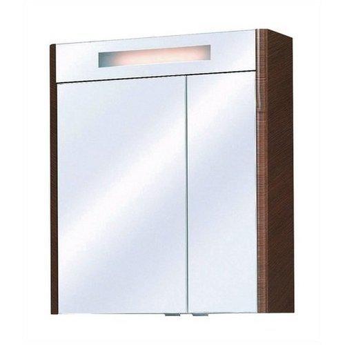 PELIPAL Badmöbelserie »Senta« in schokobraun Spiegelschrank 2 Türen