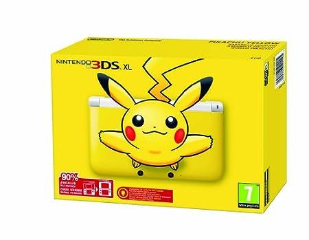 Nintendo 3DS XL - Consola, versión Pikachu