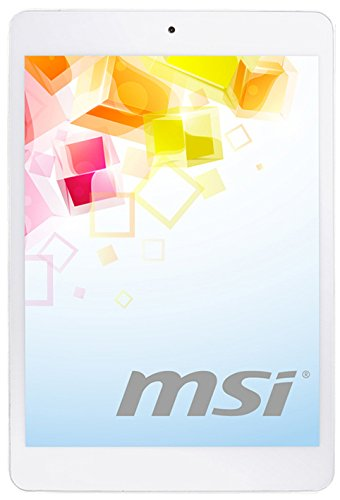 """MSI Primo 81 Tablette tactile 7,85"""" (19,94 cm) Allwinner A Series Quad Core A8 1.2 GHz 16 Go Android Jelly Bean 4.2.1 Wi-Fi Blanc"""