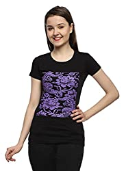 Maatra Printed Women's Round Neck T-Shirt