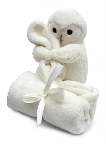 Jellycat® Bashful Owl Soother Blankie front-1014472