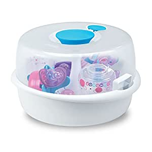 The First Years Simple Steam Microwave Sterlizer, Blue/White