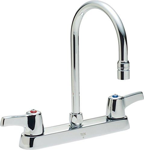 Delta Faucet 26C3943 Two Handle 8-Inch Cast Deck-Mount Faucet, Chrome
